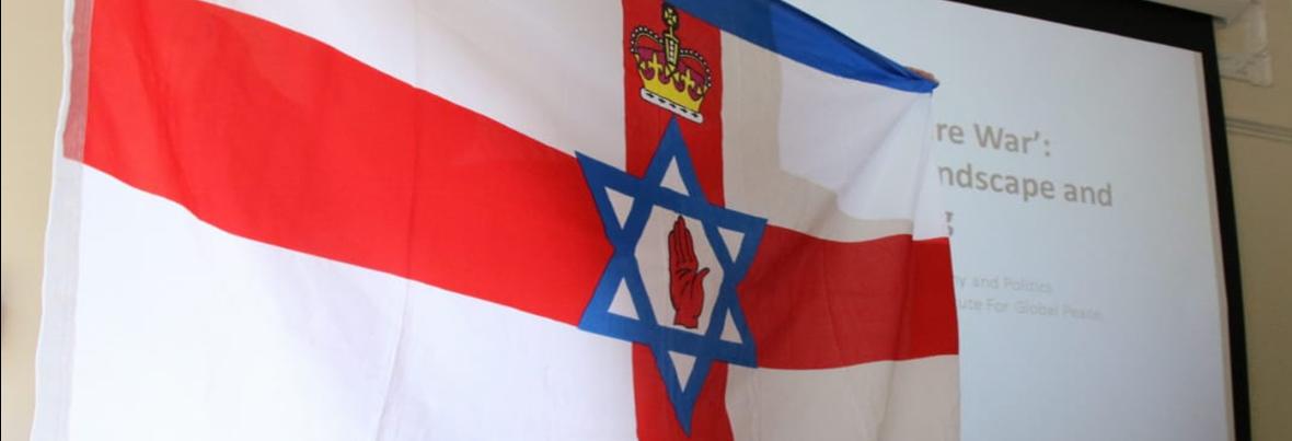 """פגישת צוות החשיבה מזרח ירושלים- ד""""ר גארי מייסון מצפון אירלנד"""