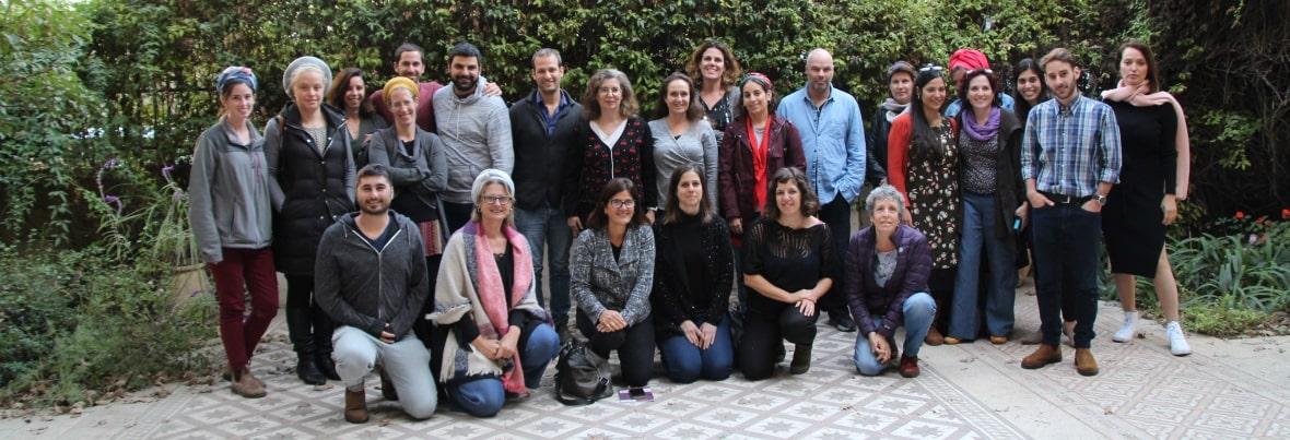 מפגש מרחבים משותפים לאנשי מקצוע מעיריית ירושלים