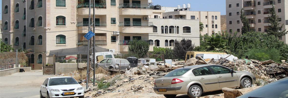 البنية التحتية الفيزيائية في المدينة – فريق تفكير القدس الشرقية: لقاء افتراضي