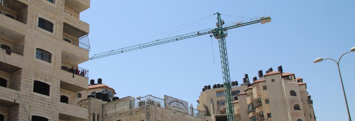 הבנייה למגורים במזרח ירושלים
